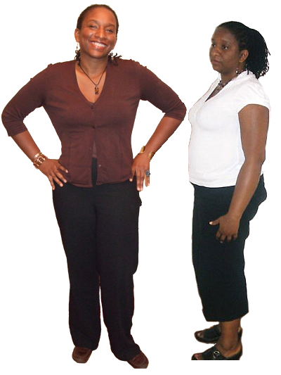 africa woman loss excess fat